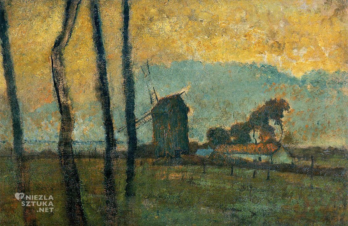 Edgar Degas, Krajobraz z Valery-sur-Somme, Niezła sztuka