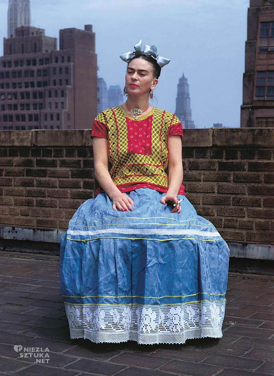 Nickolas Muray, Frida Kahlo, fotografia, kobieta, artystka, malarka, Nowy Jork, Meksyk, Niezła Sztuka