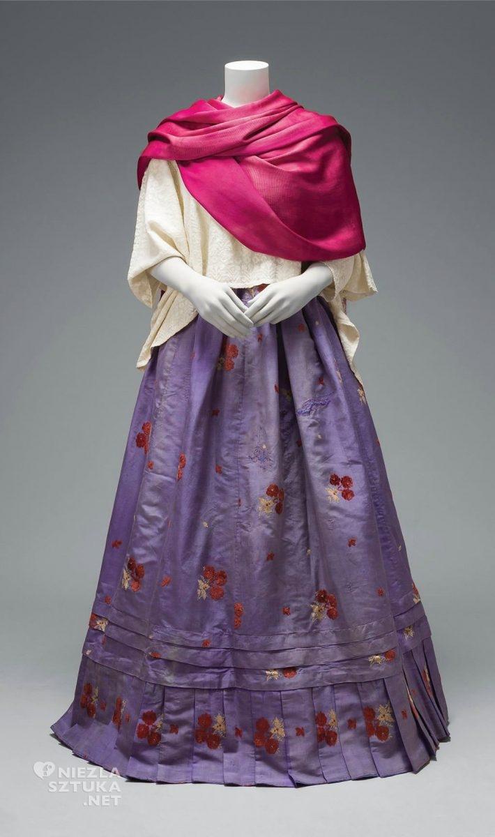 Frida Kahlo, moda, ubiór, tradycyjne stroje, folklor, Meksyk, Niezła Sztuka