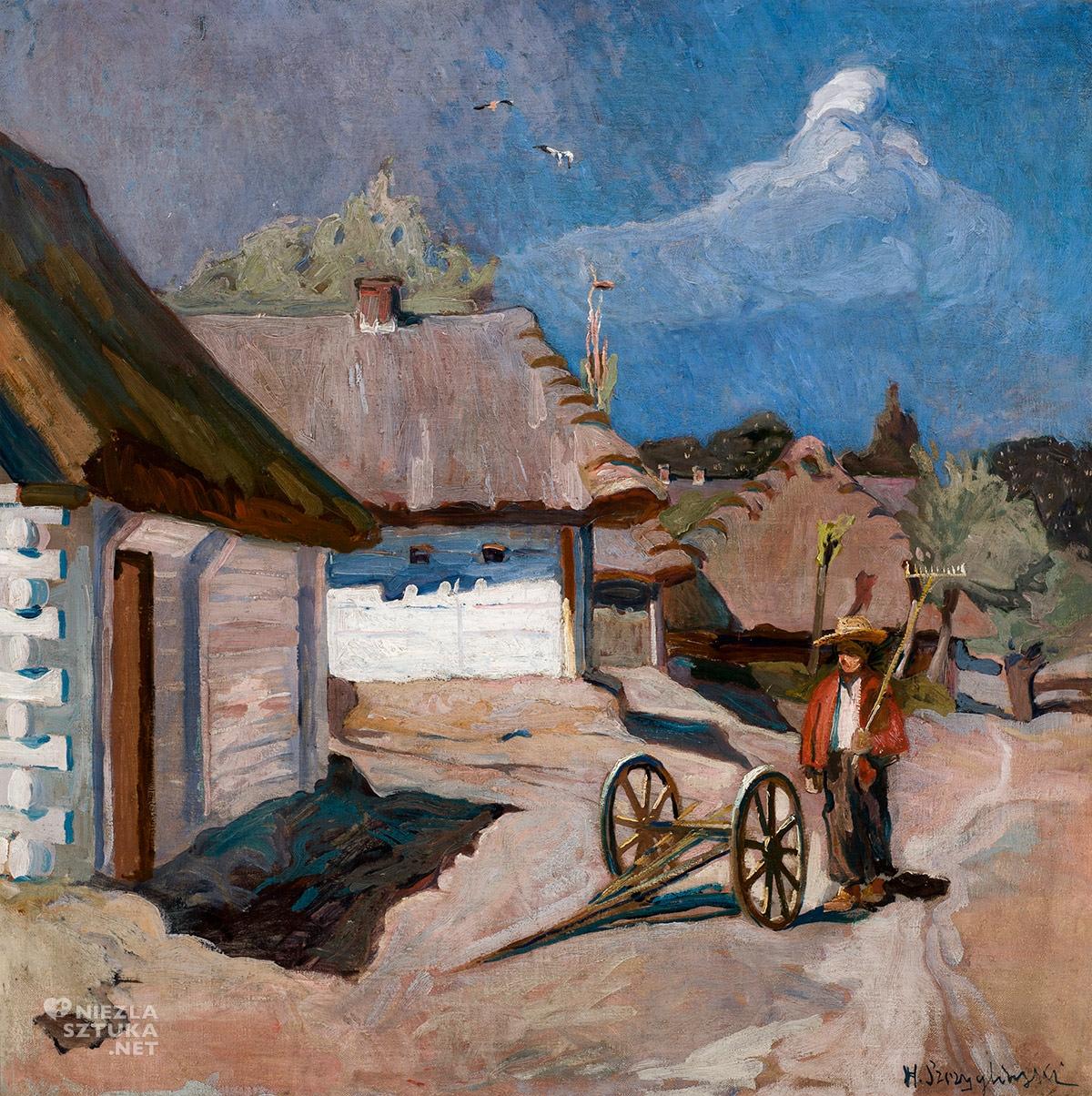 Henryk Szczygliński, Droga wiejska, Muzeum Narodowe w Krakowie, Niezła sztuka