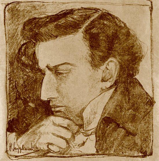 Henryk Szczygliński, Autoportret, niezła sztuka