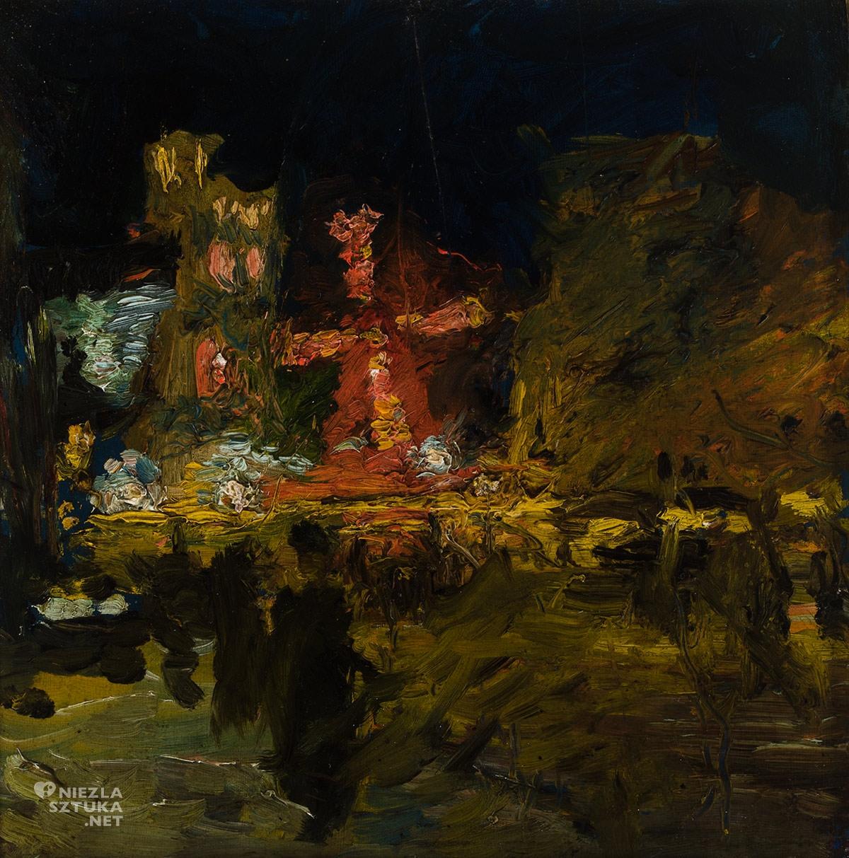 Ludwik de Laveaux, Moulin Rouge w Paryżu nocą, Niezła sztuka