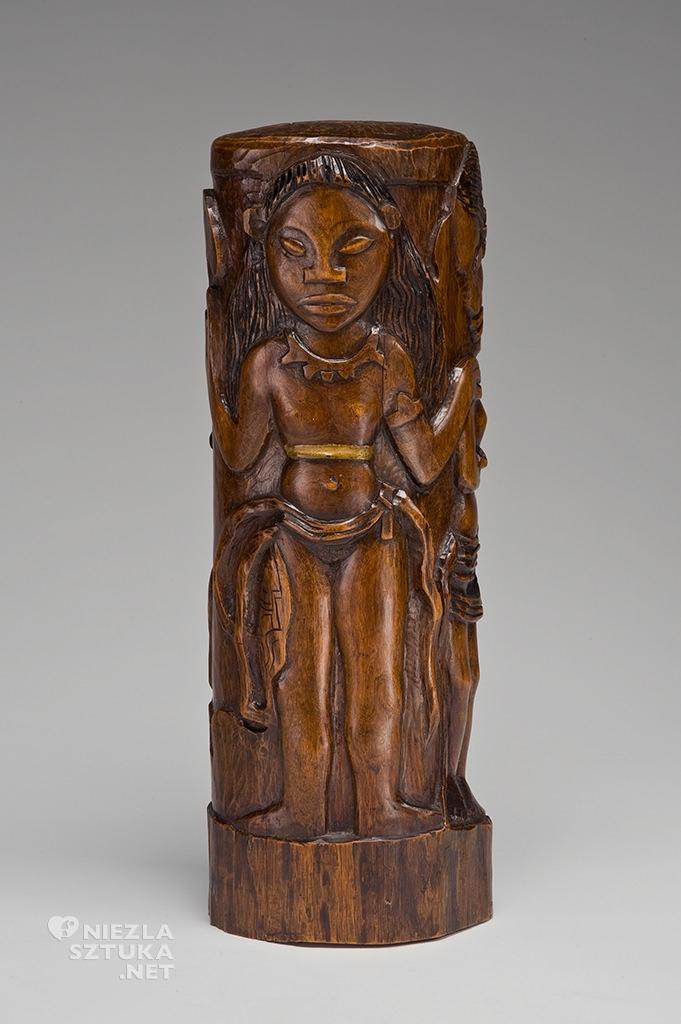 Paul Gauguin, rzeźba, drewno, idole, Niezła Sztuka