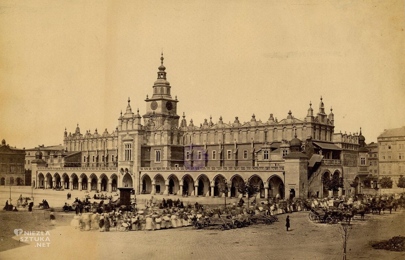 Sukiennice, 1900, Kraków, Niezła sztuka