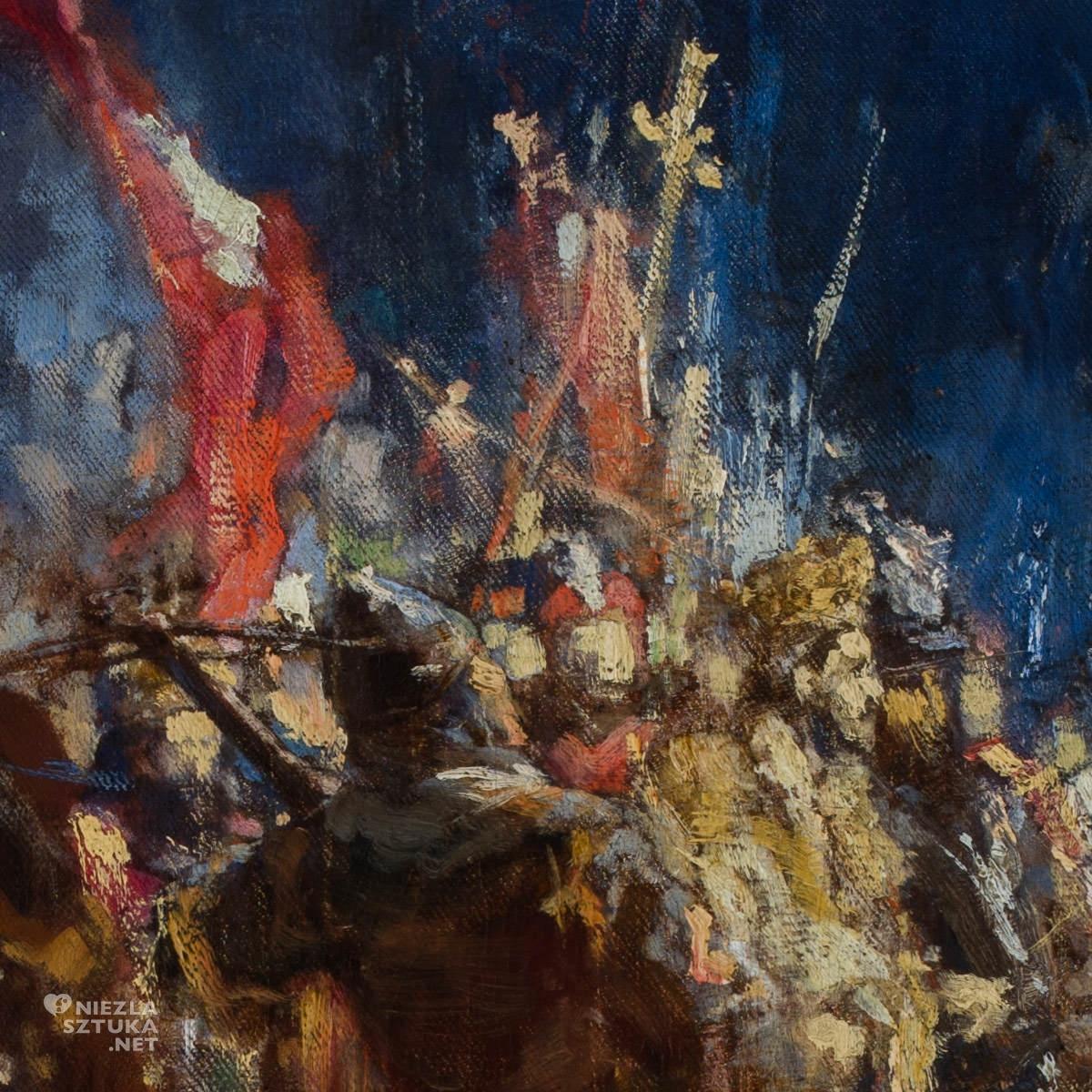 Witold Pruszkowski, Wizja, sztuka polska, malarstwo polskie, Niezła sztuka