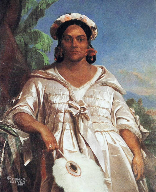 Charles Giraud, Pomare IV, Tahiti, Niezła Sztuka