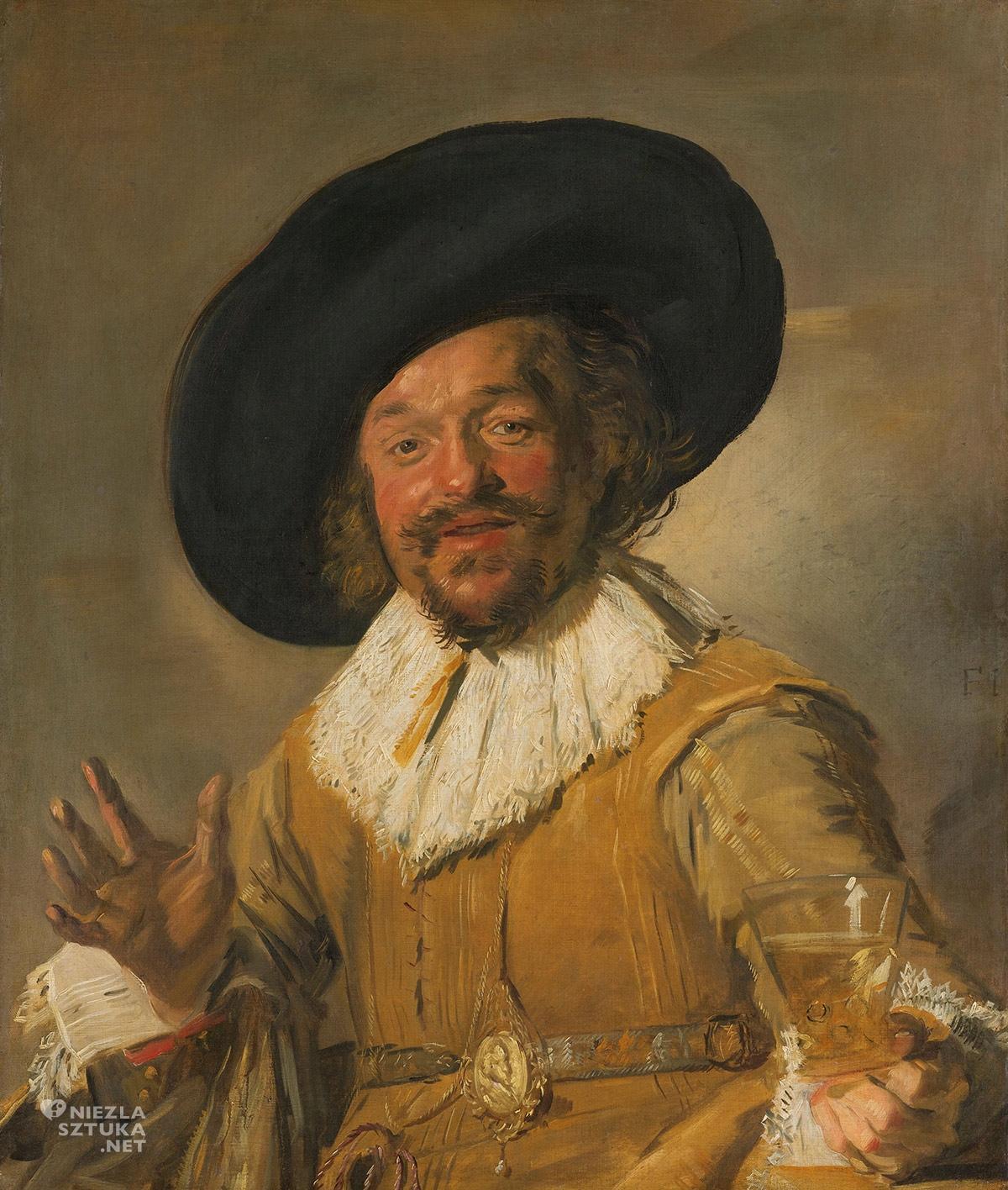 Frans Hals, Wesoły pijak, malarstwo holenderskie, Niezła sztuka