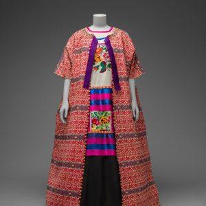 Frida Kahlo, moda, strój, tradycyjne stroje, Gwatemala, Meksyk, folklor, Ameryka Południowa, Niezła Sztuka
