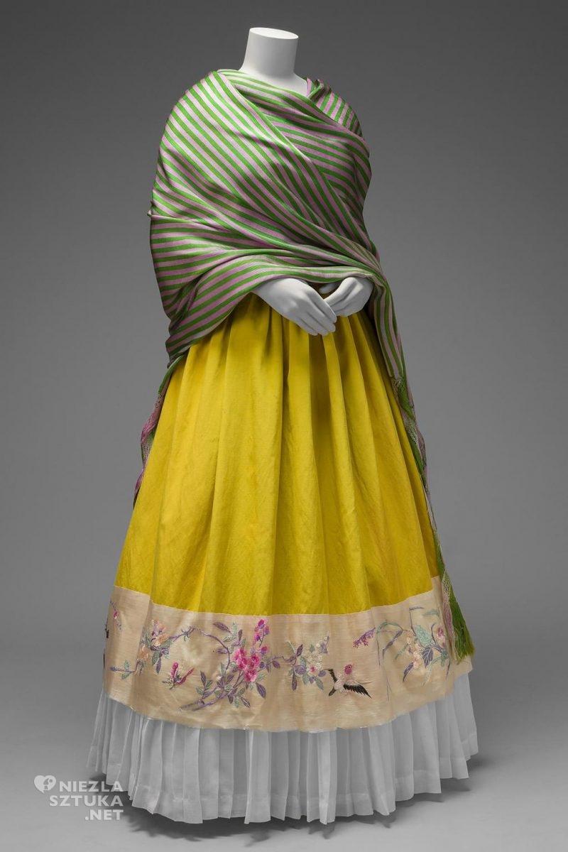 Frida Kahlo, strój, sukienka, tradycyjne stroje, moda, folklor, Meksyk, Niezła Sztuka