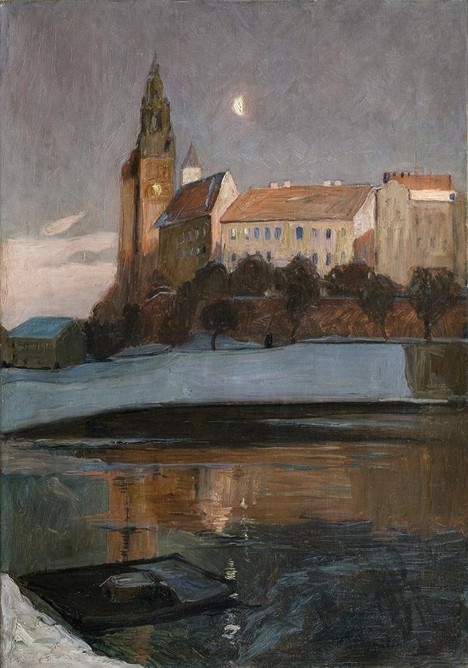 Henryk Szczygliński, WKraków, Wawel, nokturn, Zamek Królewski na Wawelu, Niezła sztuka
