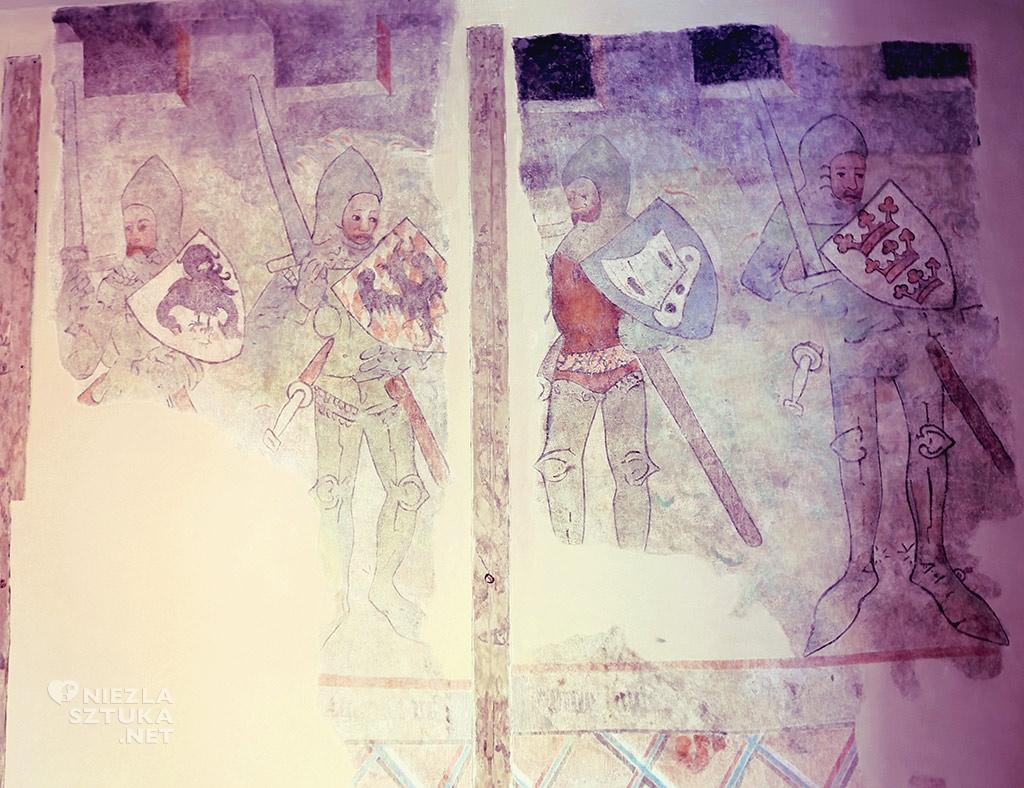Toruń, kamienica, król Artur, legendy arturiańskie, Niezła sztuka