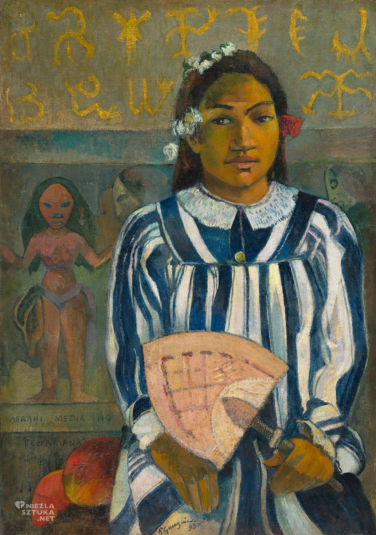 Paul Gauguin, Merahi metua no Tehamana, Tehamana ma wielu rodziców, Tahiti, Niezła Sztuka
