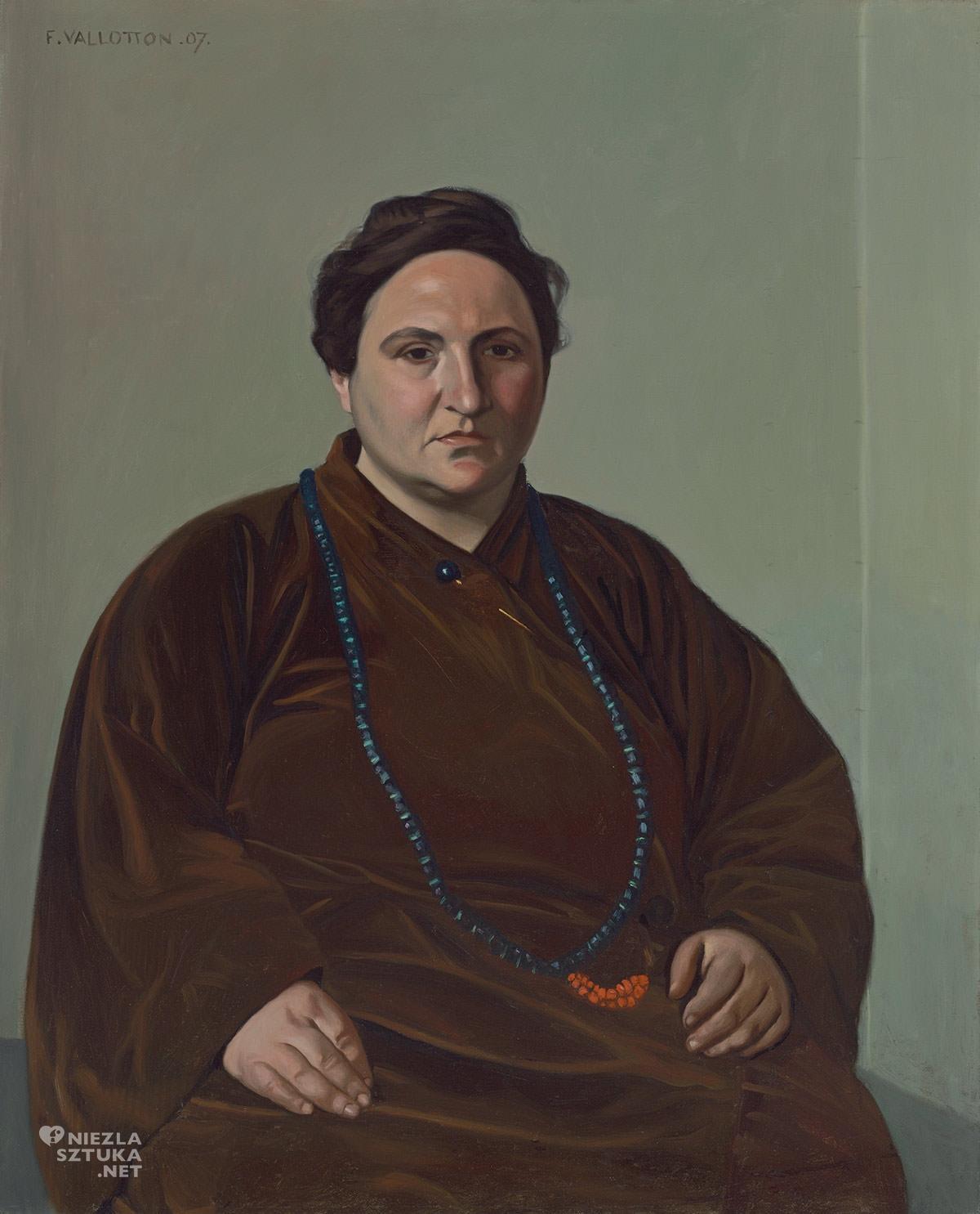 Félix Vallotton, Gertrude Stein, Niezła sztuka