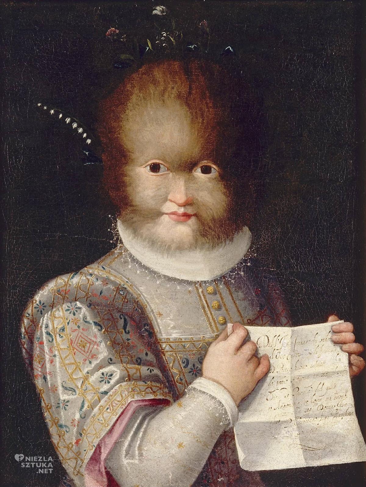 Lavinia Fontana, Antonietta Gonzalez portret, Niezła Sztuka