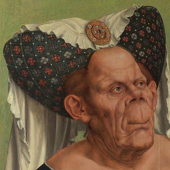 Quinten Massys, Stara kobieta, Brzydka księżniczka, malarstwo niderlandzkie, Niezła sztuka