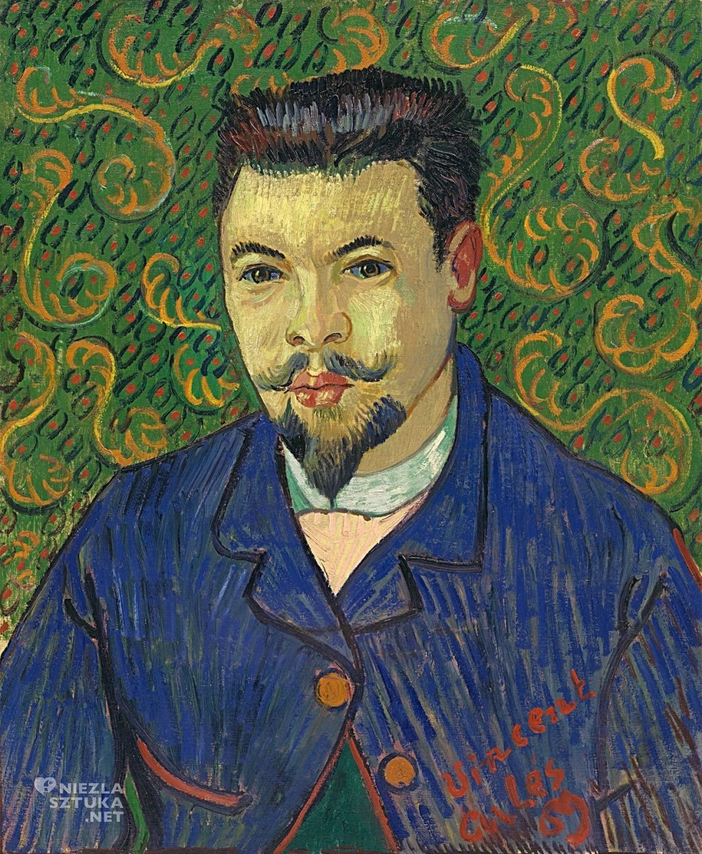 Vincent van Gogha, Portret doktora Felixa Reya, malarstwo europejskie, sztuka europejska, Niezła Sztuka