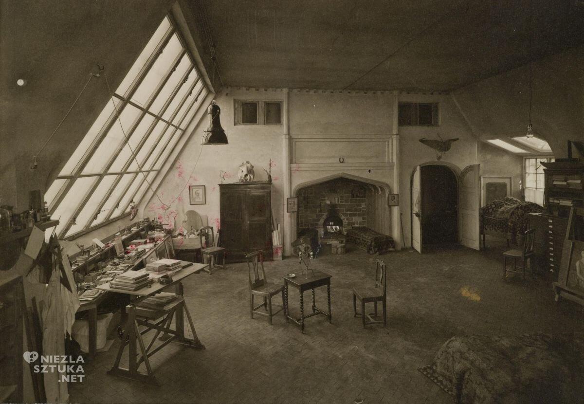 Akseli Gallen Kallela, pracownia dom, Niezła sztuka