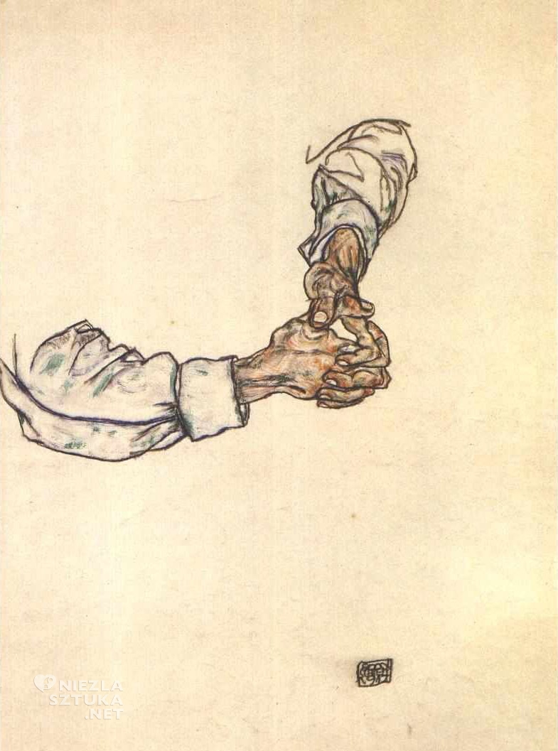 Egon Schiele, Dłonie, Niezła sztuka