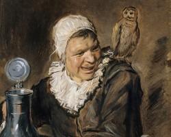 Frans Hals, Malle Babbe, Portret starej czarownicy z Haarlemu, malarstwo holenderskie, Niezła sztuka