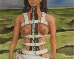 frida kahlo, strzaskana kolumna, meksyk, niezła sztuka