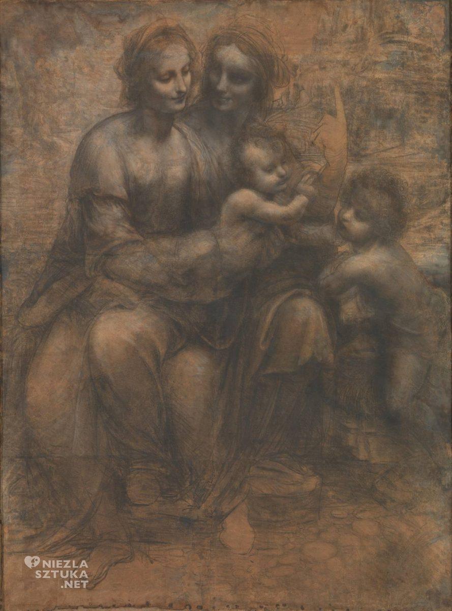 Leonardo da Vinci, Madonna z dzieciątkiem i św. Anną, Niezła sztuka
