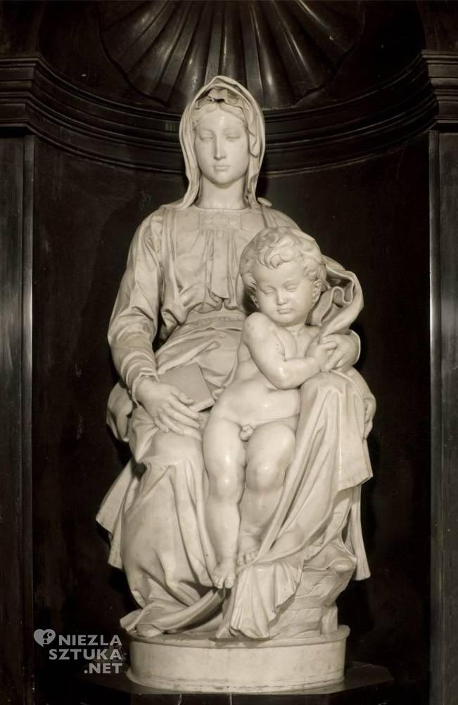 Michał Anioł, Madonna z Brugii, rzeźba, Niezła sztuka