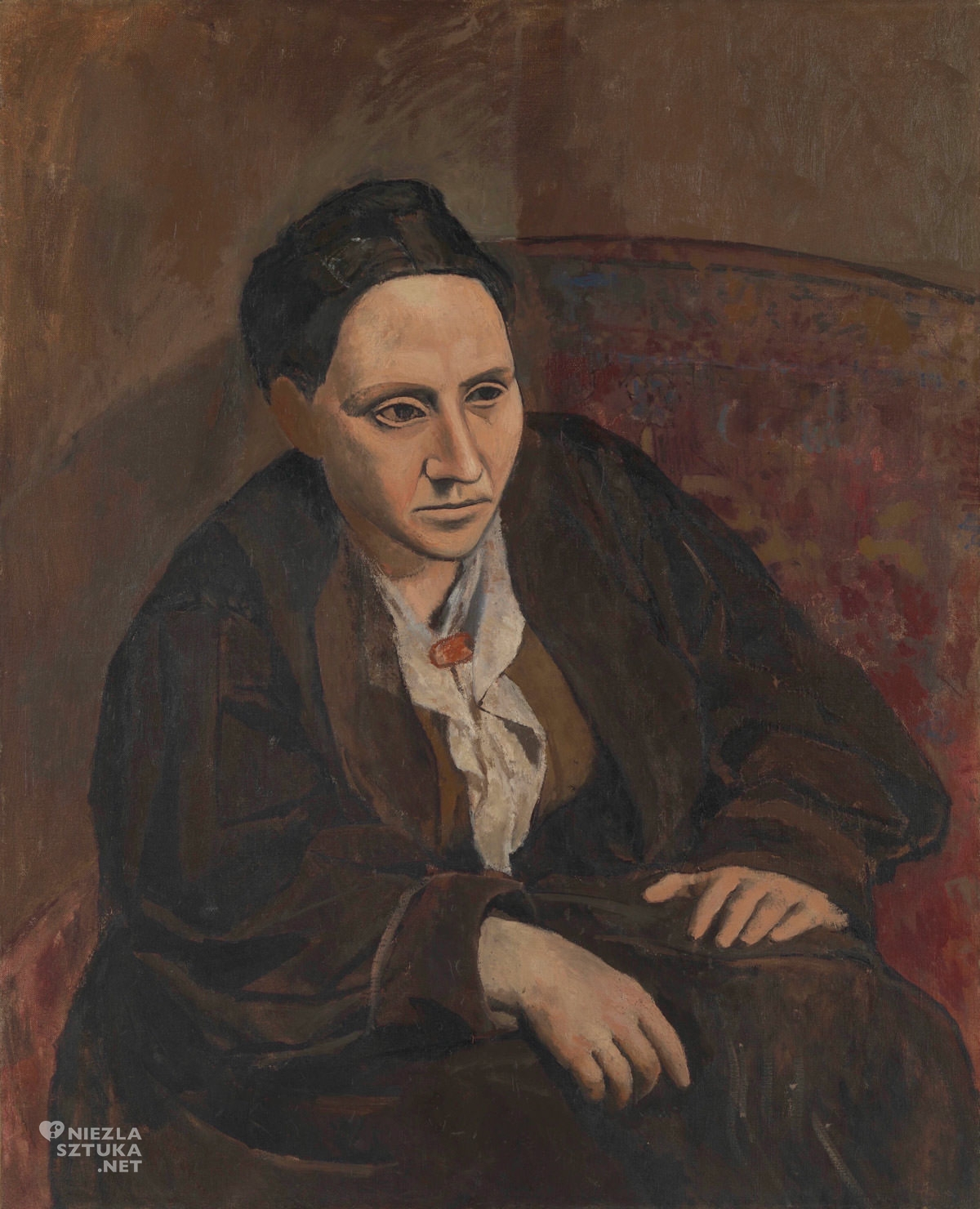Pablo Picasso, Gertruda Stein,Gertrude Stein, Niezła sztuka