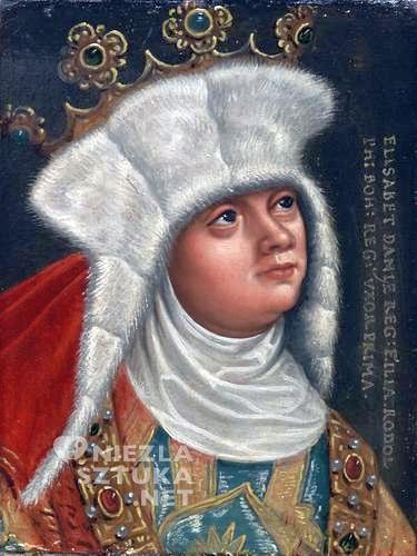 królowa Ryksa Elżbieta, portret, Niezła sztuka
