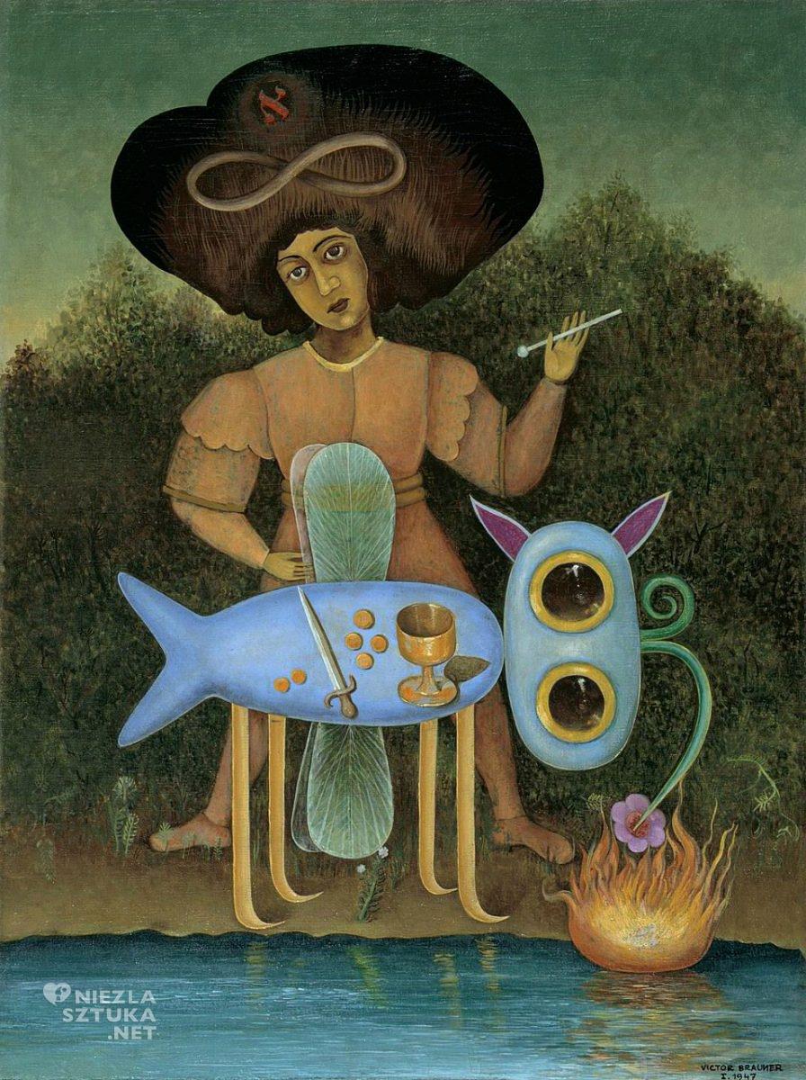 Victor Brauner, Surrealista, surrealizm, Niezła Sztuka