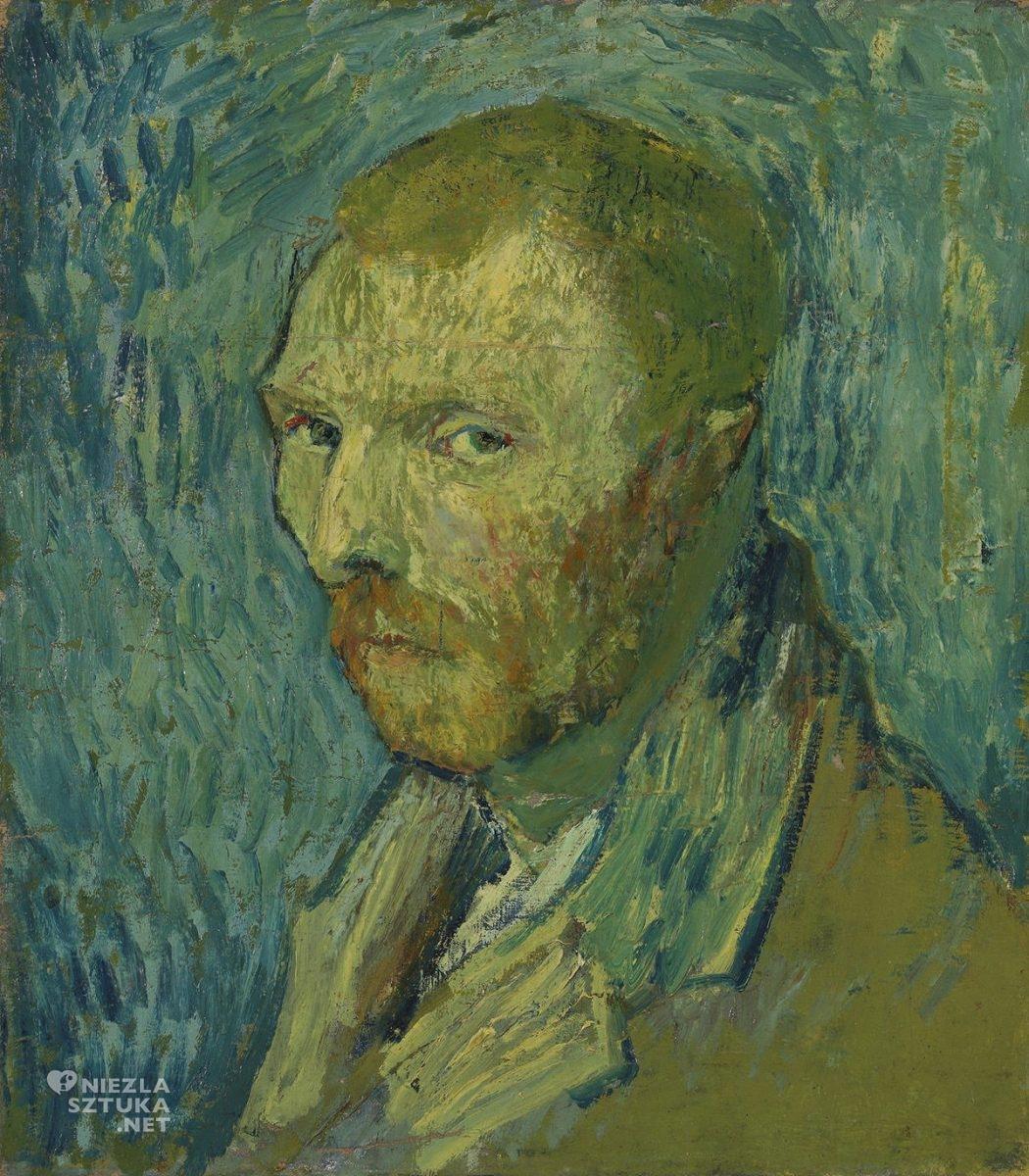 Vincent van Gogh, Autoportret, malarstwo europejskie, sztuka europejska,, Niezła Sztuka