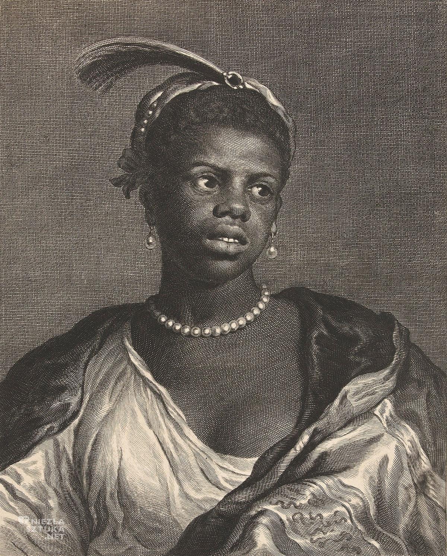 Cornelis van Dalen II, Popiersie kobiety w perłowym naszyjniku, Rijksmuseum, malarstwo holenderskie, sztuka holenderska, Niezła sztuka