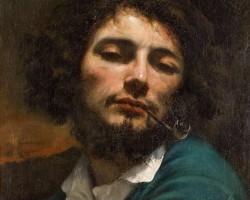 Gustave Courbet, Autoportret, realizm, Niezła Sztuka