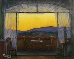 Harald Sohlberg, Z domu, niezła sztuka