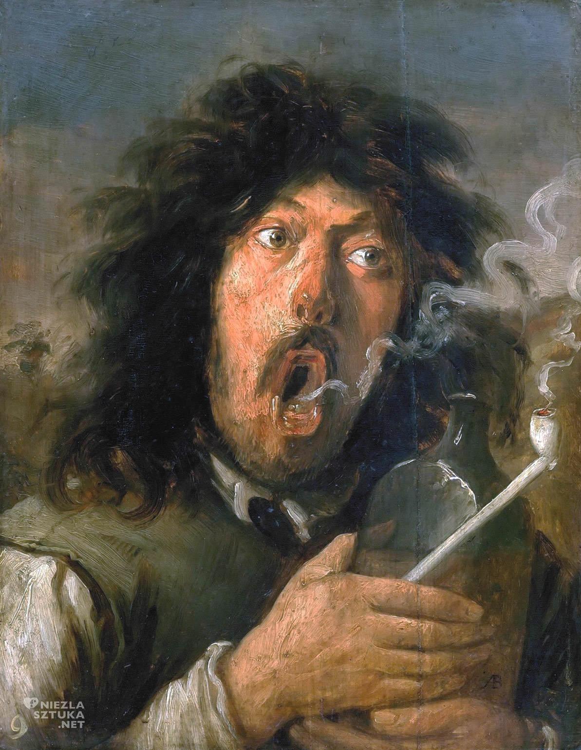 Joos van Craesbeeck, Palacz, sztuka europejska, malarstwo flamandzkie, Niezła Sztuka