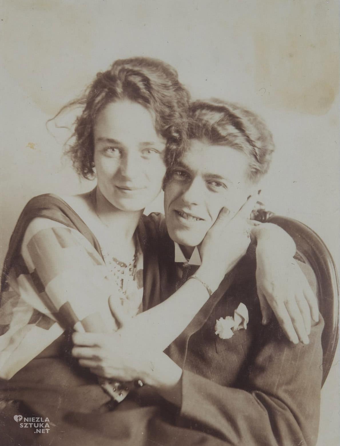 René Magritte, Georgette Berger, zdjęcie ślubne, Niezła sztuka