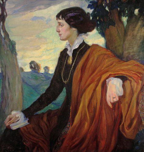 Olga Kardowska, Anna Achmatowa, kobieta, portret, sztuka rosyjska, Niezła sztuka