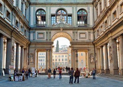 Uffizi, Florencja, muzeum, Niezła Sztuka
