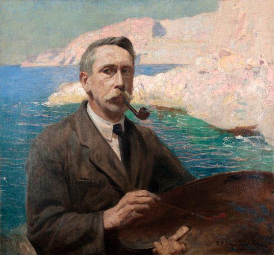 Feliks Michał Wygrzywalski, autoportret, sztuka polska, malarz polski, Niezła sztuka