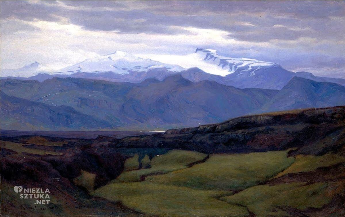 Ásgrímur Jónsson, sztuka skandynawska, Niezła sztuka