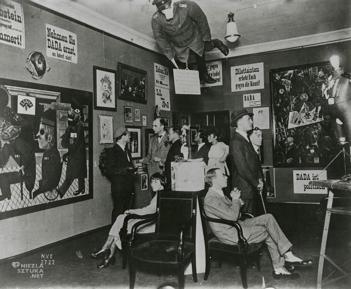 Dada, Berlin, wystawa, targi, dadaizm, sztuka współczesna, Niezła Sztuka