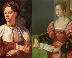 edgar degas, Bachiacca, włoskie wpływy, niezła sztuka