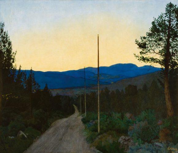 Harald Sohlberg, sztuka skandynawska, Niezła sztuka