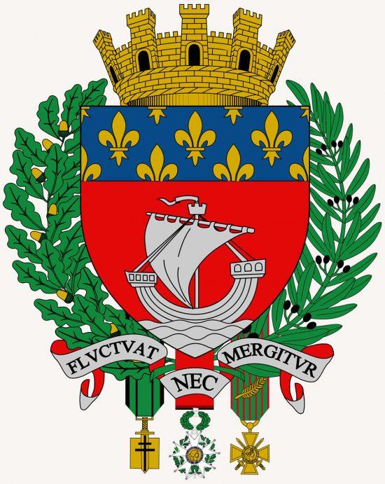 herb Paryża, Paryż