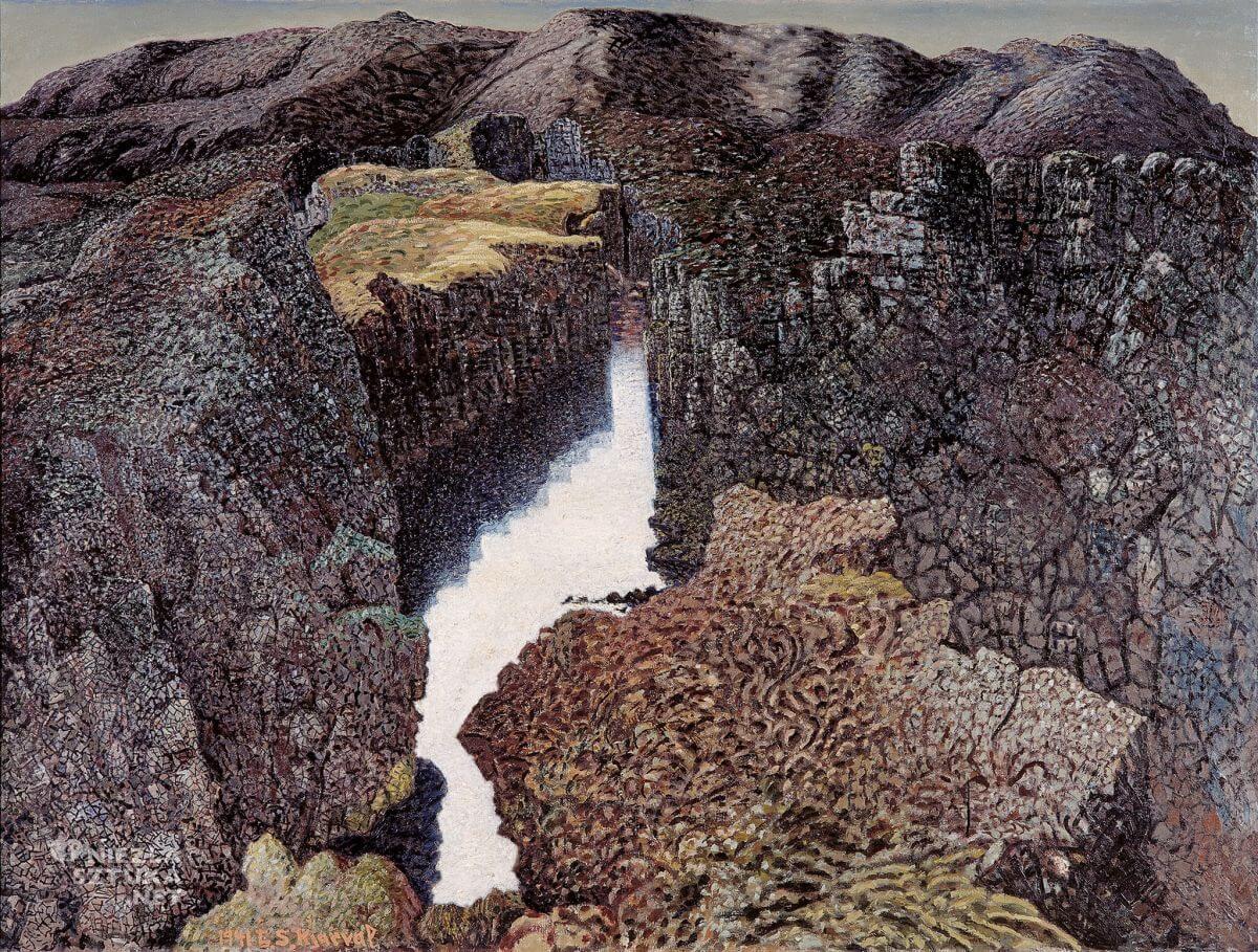 Johannes Kjarval, Mleczna Góra, sztuka skandynawska, Niezła sztuka