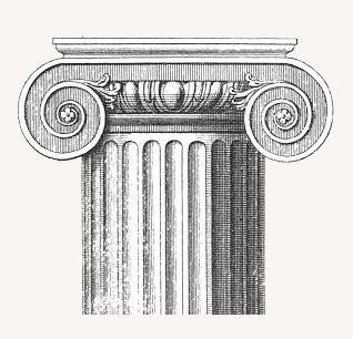 kolumna jońska, niezła sztuka