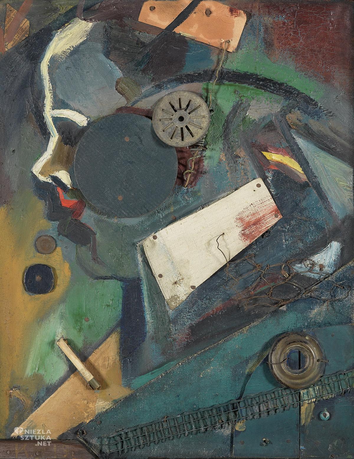 Kurt Schwitters, Merzbild, Psychiatra, Asamblaż, dada, dadaista, Niezła sztuka