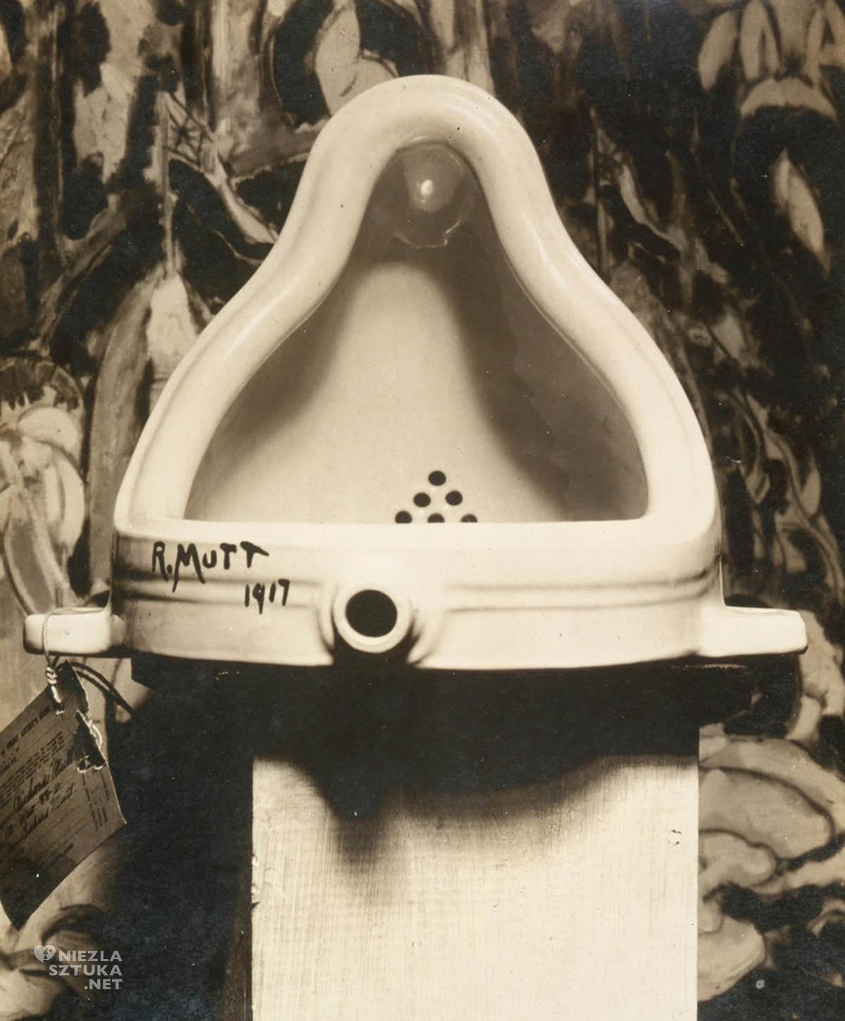 Marcel Duchamp, Fontanna, dadaizm, ready-made, Niezła Sztuka