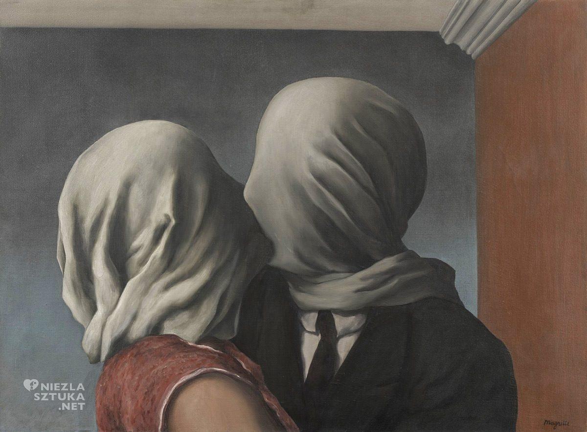 René Magritte, Kochankowie, surrealizm, Belgia, Niezła Sztuka