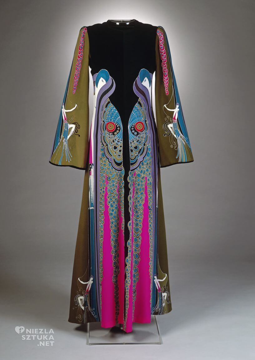 Romain de Tirtoff, Erte, moda, sukienka, Niezła sztuka