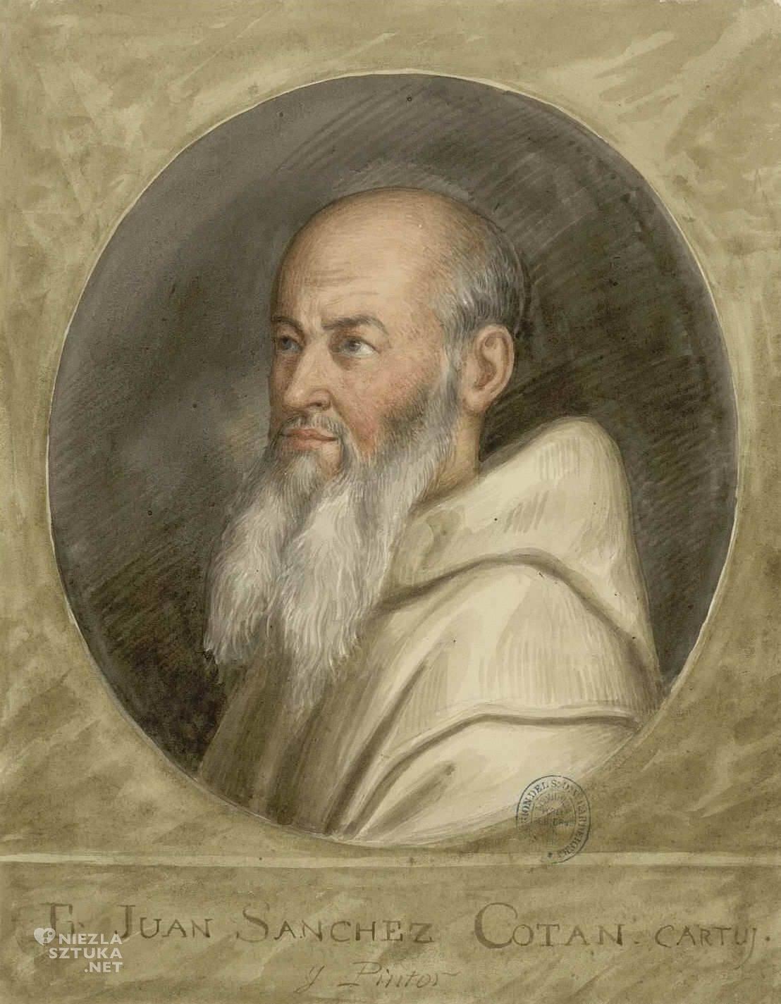 Juan Sanchez Cotan, portret, sztuka hiszpańska, malarstwo hiszpańskie, Niezła sztuka